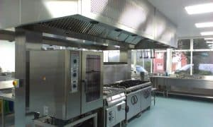 Fire Suppression for Commercial Kitchens