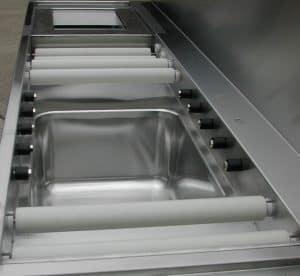 Roller Dishwash Table