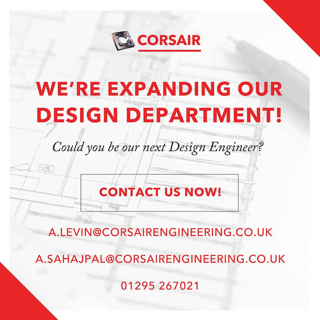 Corsair Job Vacancy